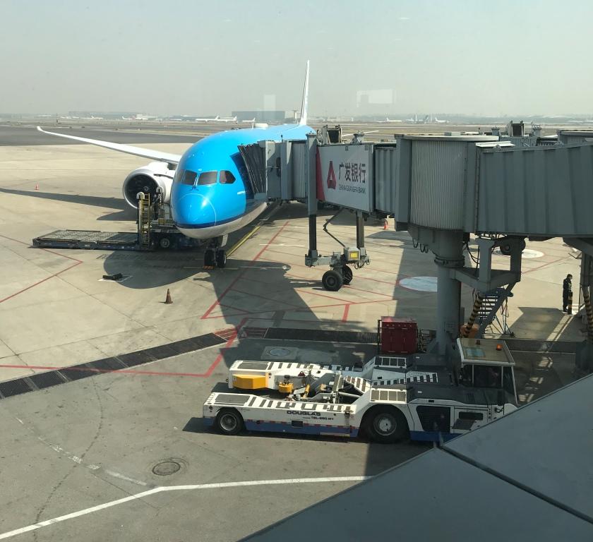 Vliegtuig Beijing